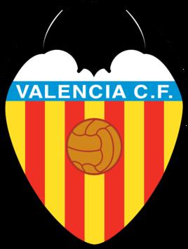 巴伦西亚足球俱乐部【瓦伦西亚】队徽