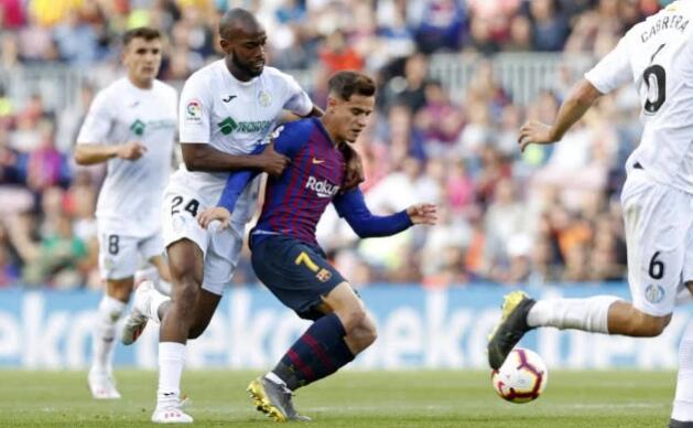 巴萨2-0夺主场7连胜 梅西造2球铁腰破门