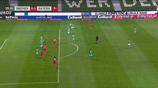 德甲莱万制胜球戴维斯染红 拜仁1-0客胜提前两轮加冕8连冠