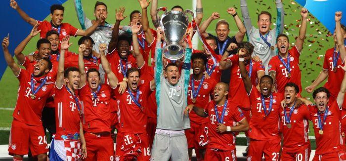 欧冠-拜仁1-0巴黎第六次加冕欧冠冠军科曼头球致胜